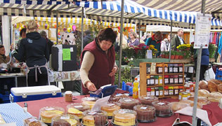 Farmers Markets in Wales